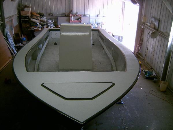 Aussie 6.7mt Sportfisher / fishing boat build | Boat Design Net