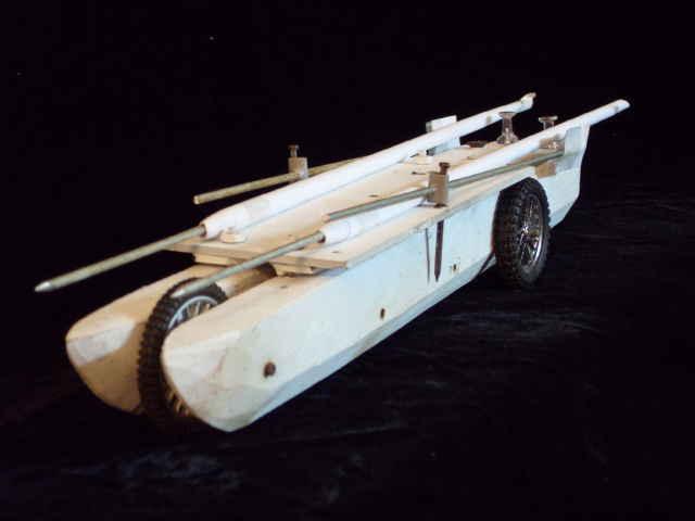 Biplane rigged folding beach catamaran for adventure racing. | Boat Design Net