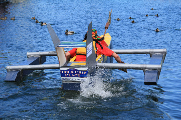 Cardboard Boat Race Design Net Reheart Image Collections