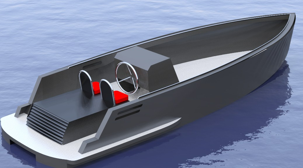 Dutch Design Modern Ultimate Aluminium Tender