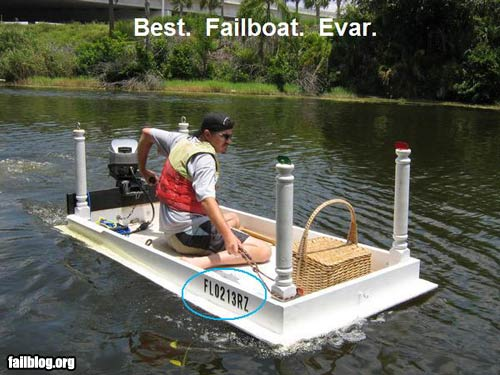 Fail owned best failboat ever fail boat design net for Hubbards fishing float