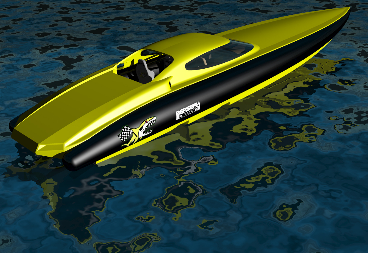 Fast Offshore Interceptor Endurance Racer Long Distance