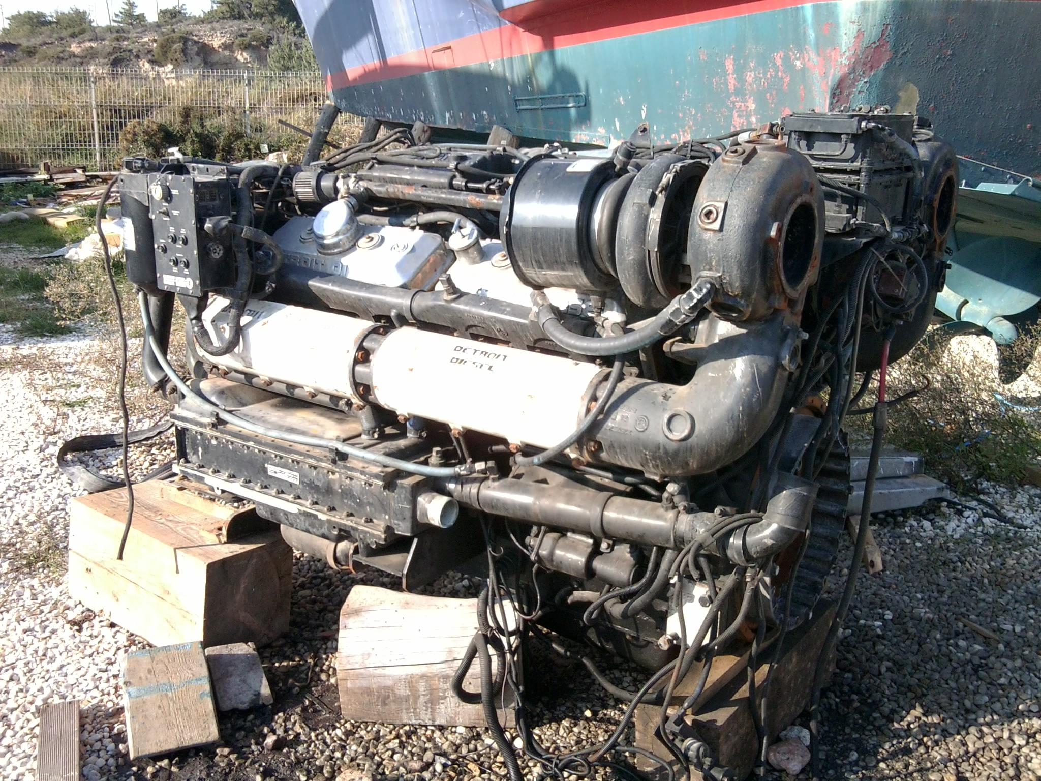 Junk Detroit Diesel V12 Boat Design Net