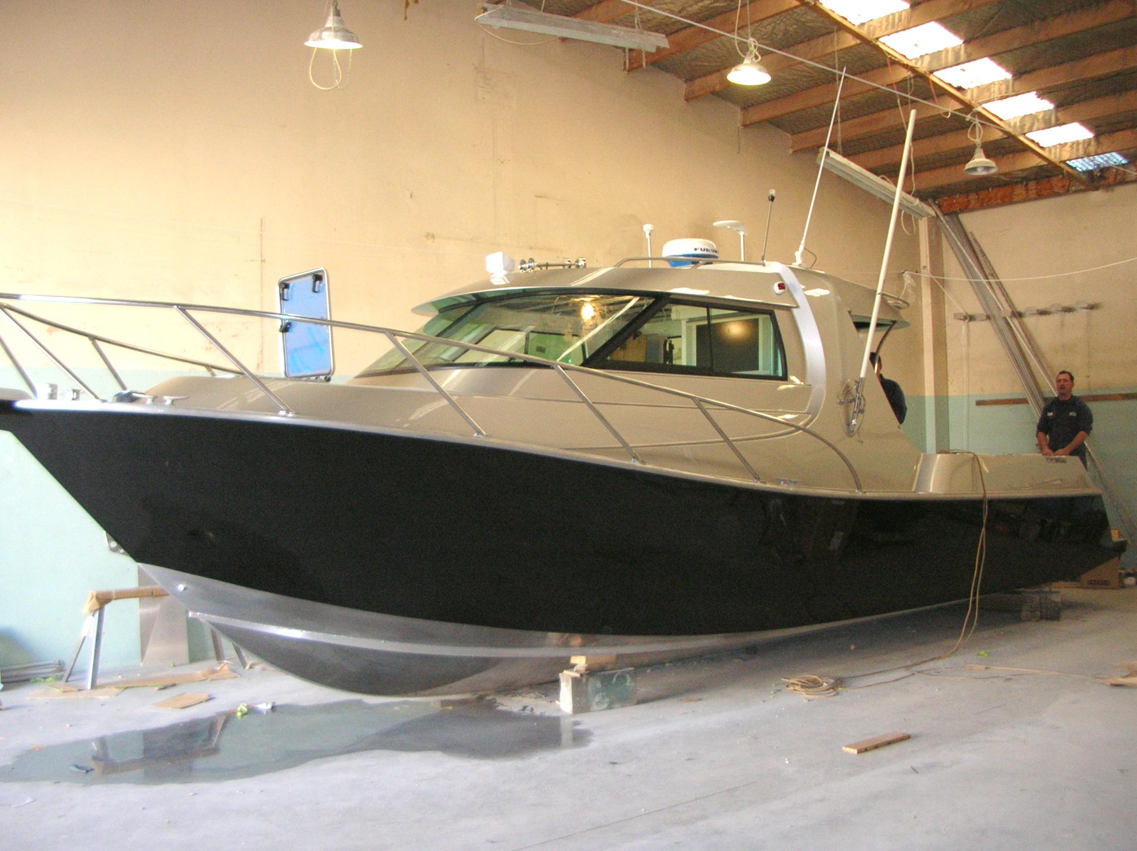 Sportfisher 1030 Aluminium Boat Design Net
