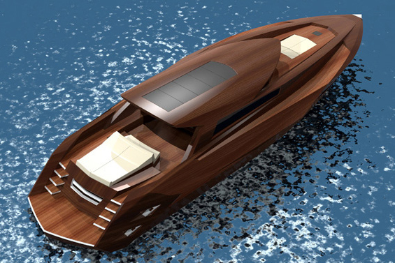 Wooden Yacht Concept